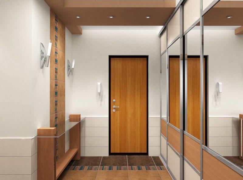 Illuminazione Di Un Corridoio : Soffitti tesi e tipi di luci nel corridoio soffitto e