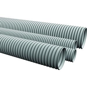 Oluklu PVC borular: açıklama ve amaç